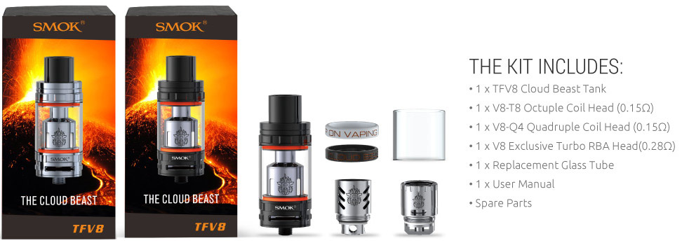 TFV8 Cloud Beast Sub Ohm Tank Kit