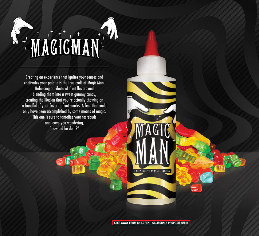 Magic Man E Juice