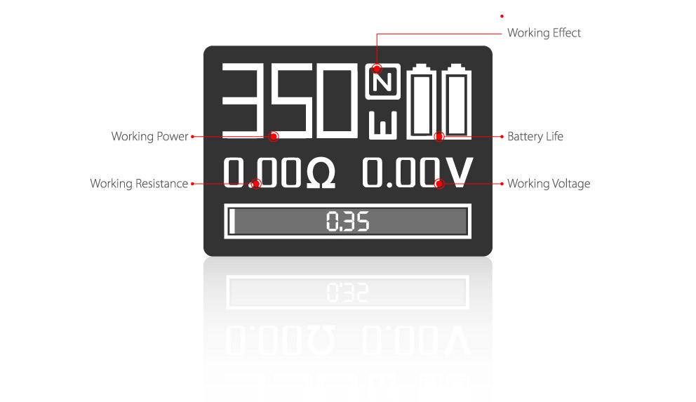 GX350 Display