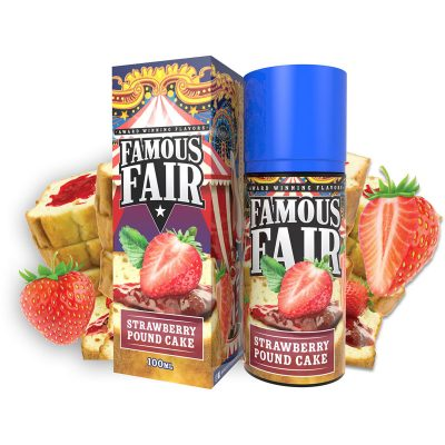 Strawberry Pound Cake by Famous Fair
