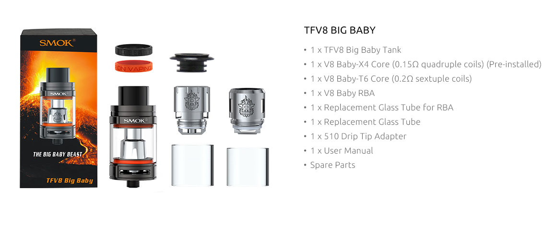 TFV8 Big Baby Kit