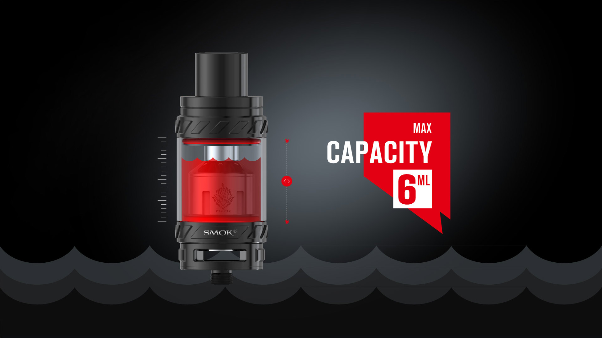 SMOK TFV12 Cloud Beast King - Capacity