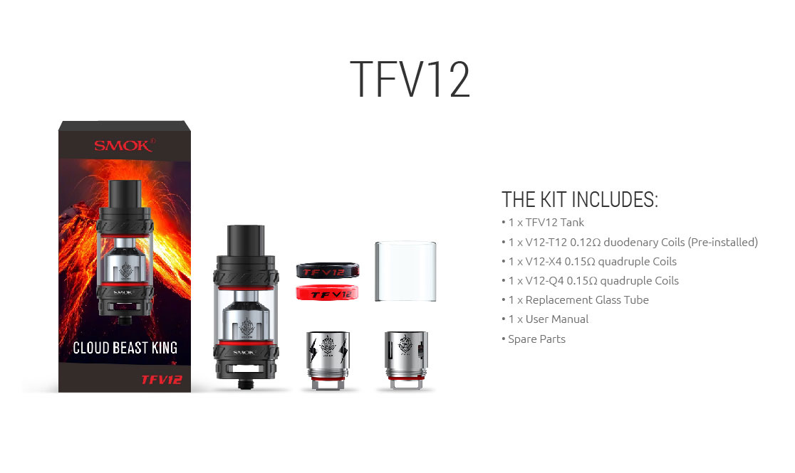 SMOK TFV12 Cloud Beast King - Kit