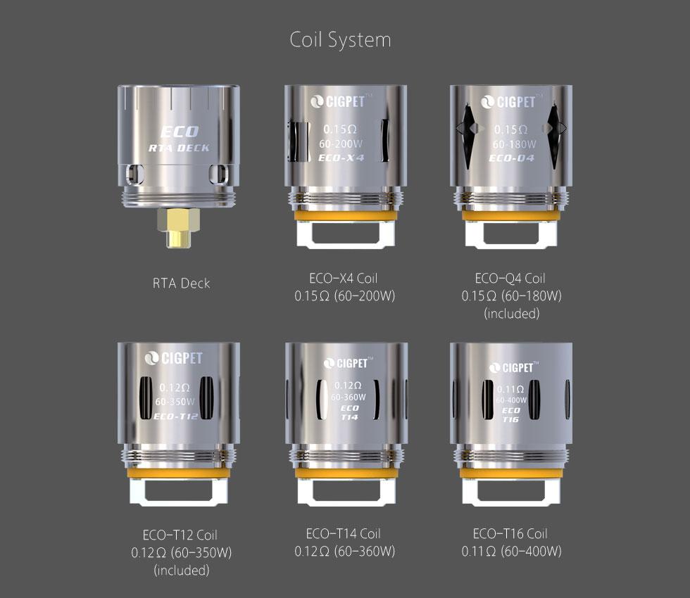 iJoy CIGPET ECO12 Coils