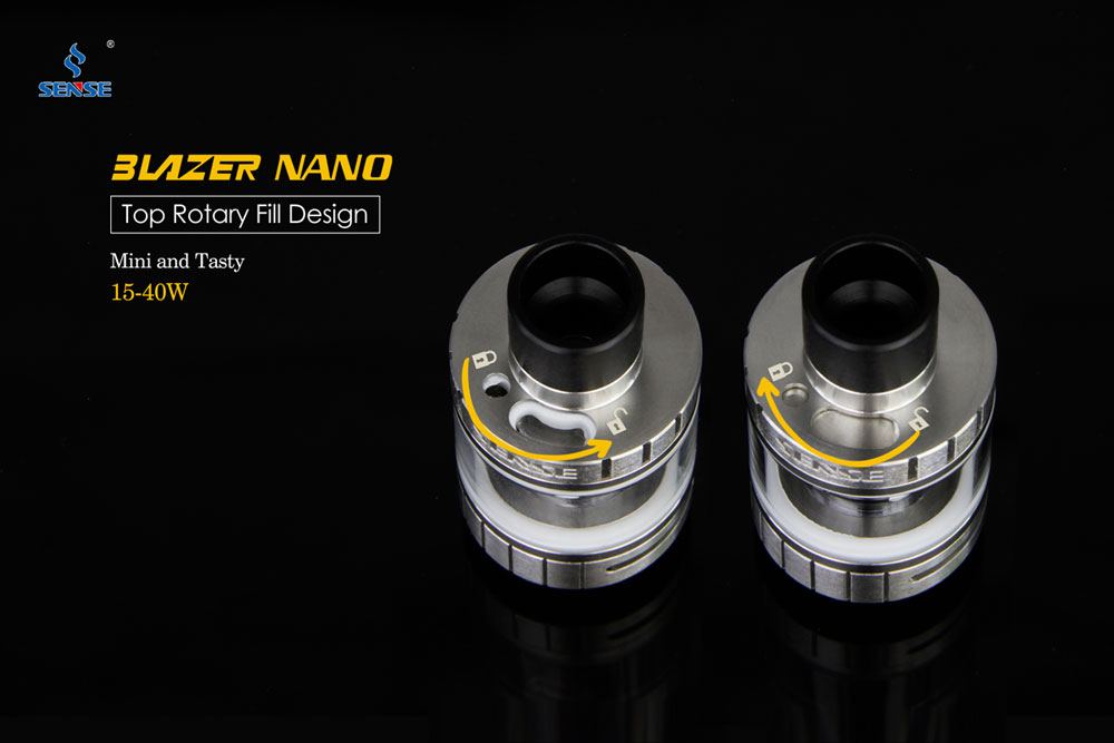 Blazer Nano - Top Fill Design