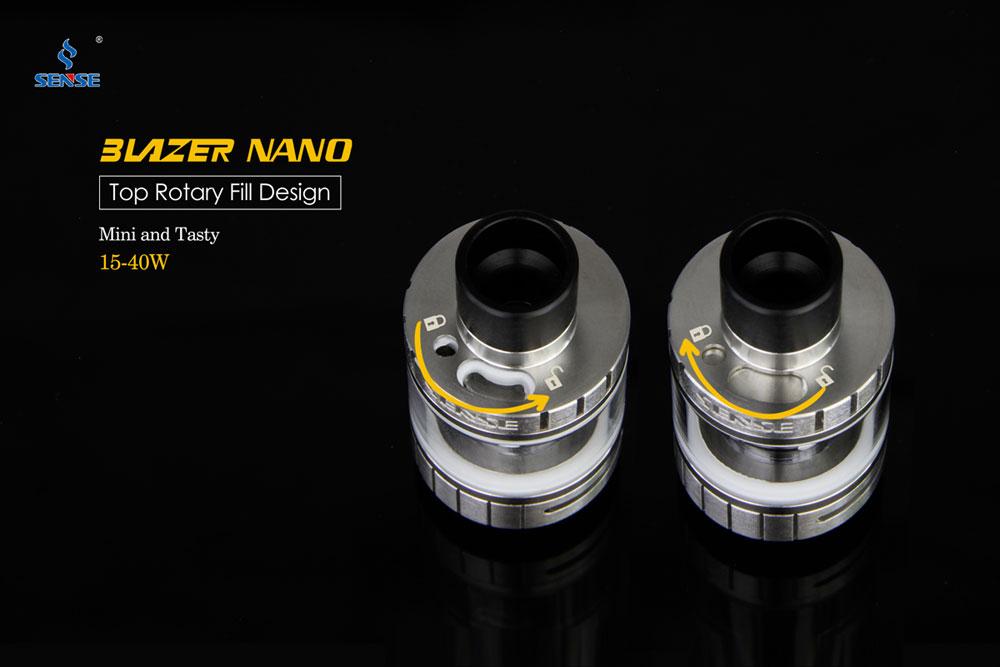 Blazer Nano - Top Fill Design