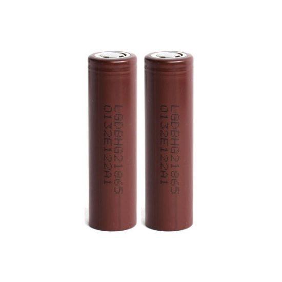 2 x LG HG2 Batteries