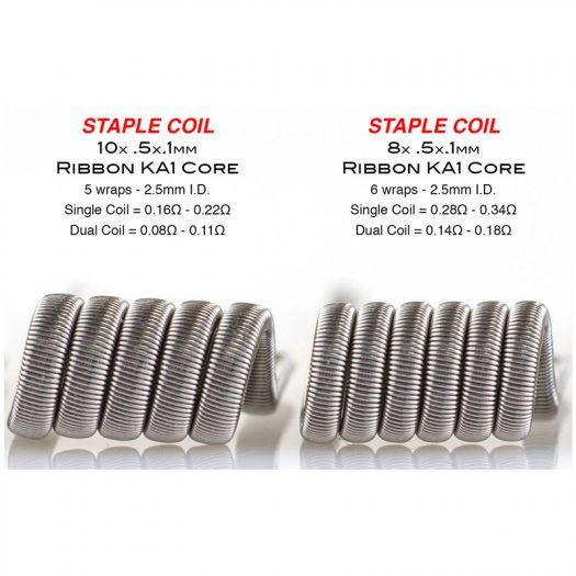 Staple Coils by Squidoode