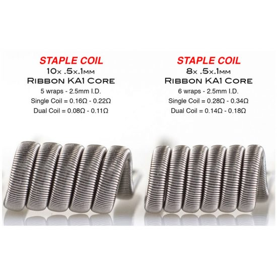 Staple Coils by Squidoode