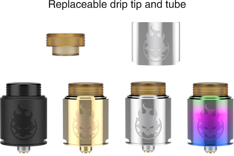 Replacable Drip Tip & Tube