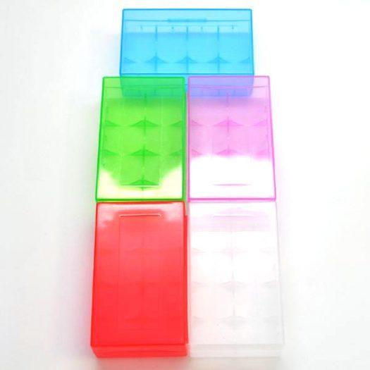 20700 & 21700 Battery Case 5 Colors