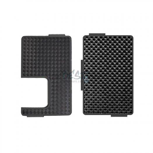 Carbon Fiber Silver & Black Panels