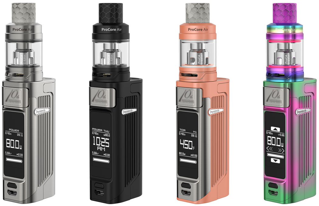 Joyetech ESPION Solo with ProCore Air Preview