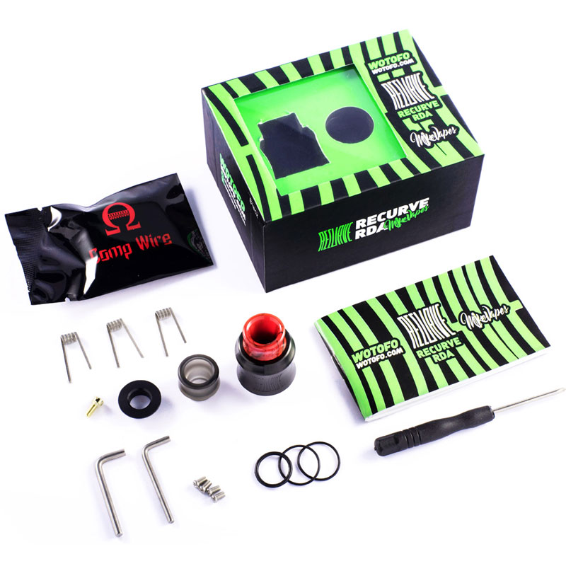 Recurve RDA Product Contents