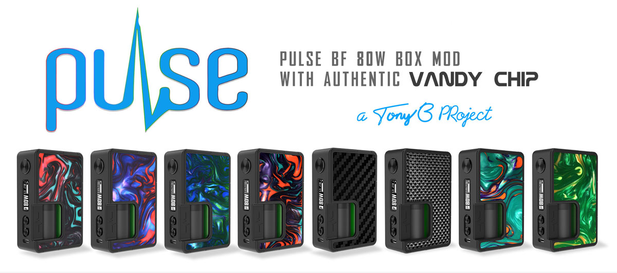 Pulse BF 80W New Colors All 8 Banner