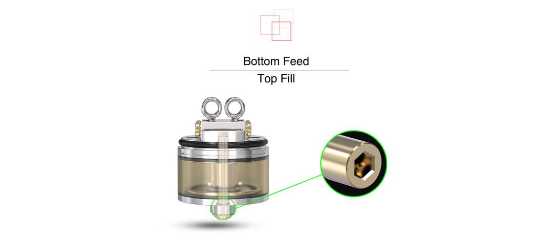 Pyro V2 RDTA - Bottom Feed Top Fill