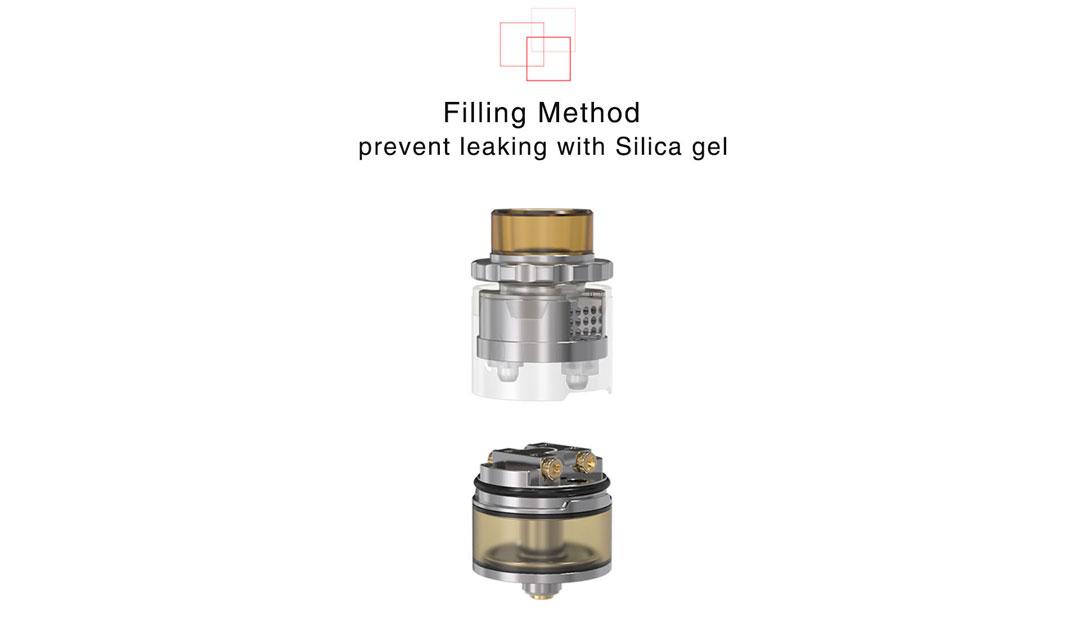 Pyro V2 RDTA - Filling Method