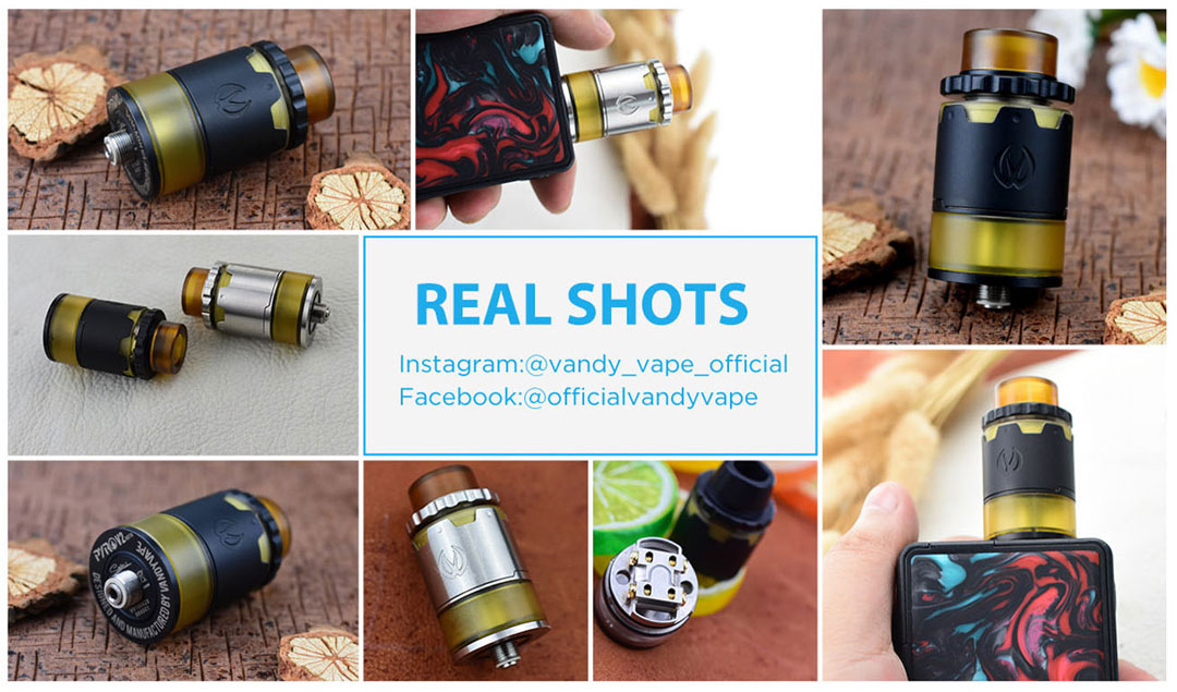 Pyro V2 RDTA Real Shots