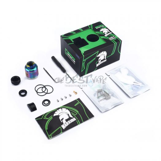 Warrior RDA Product Contents