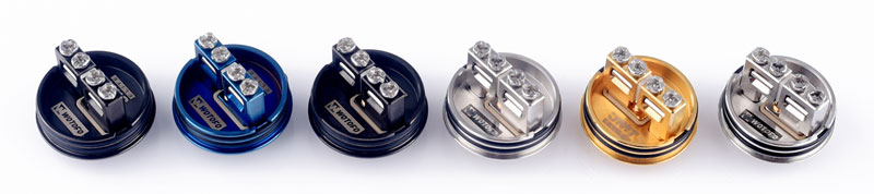 Wotofo Warrior RDA Build Decks