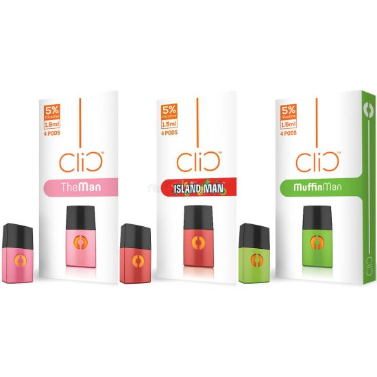 Clic Vapor Replacement Pods