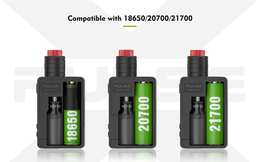 Pulse X BF Kit - Compatible Batteries