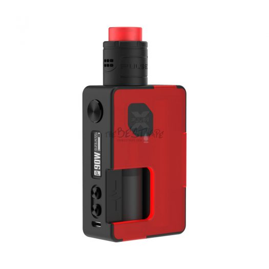 Pulse X BF Kit Frosted Red