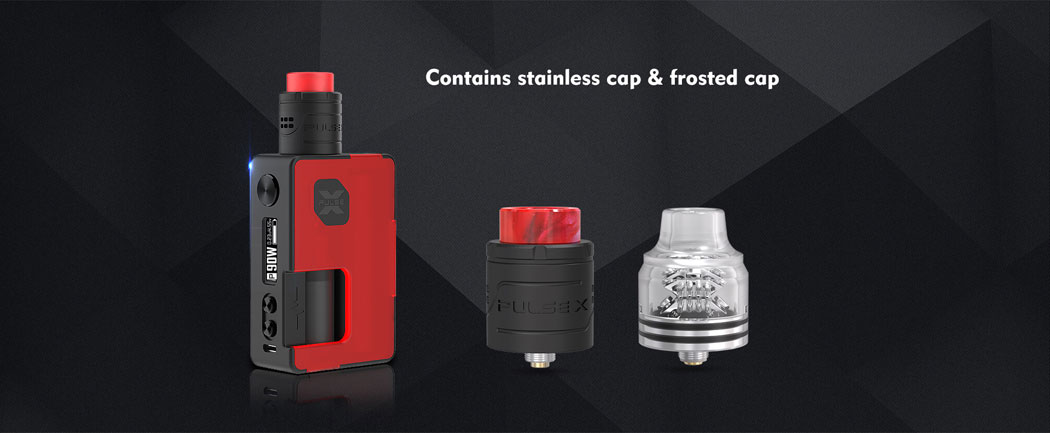 Pulse X BF Kit - SS Cap Frosted Cap