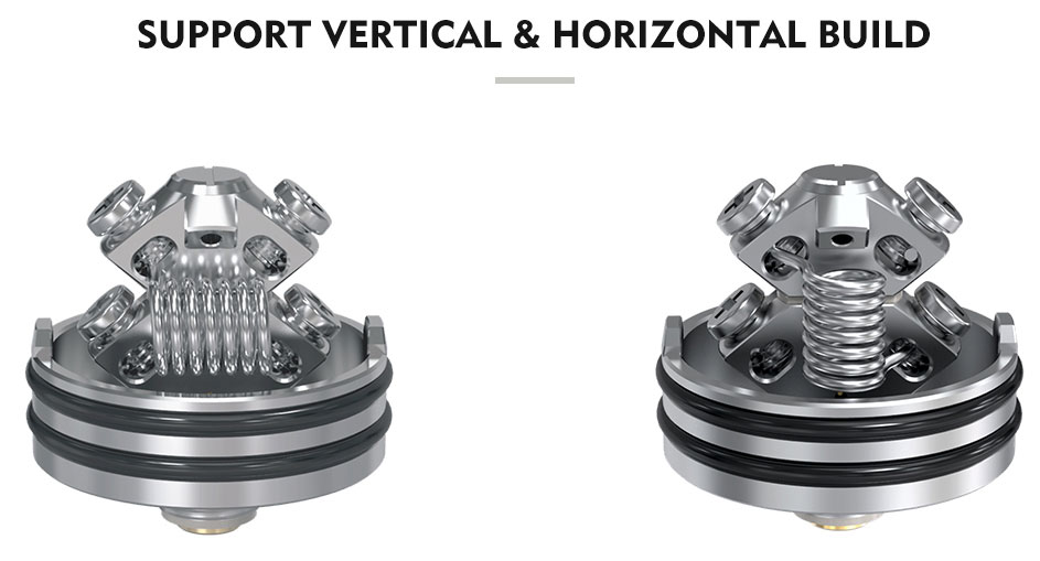 Pulse X RDA - Horizontal Vertical Builds
