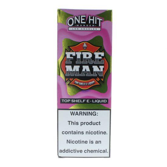 One Hit Wonder E-Liquid Fireman