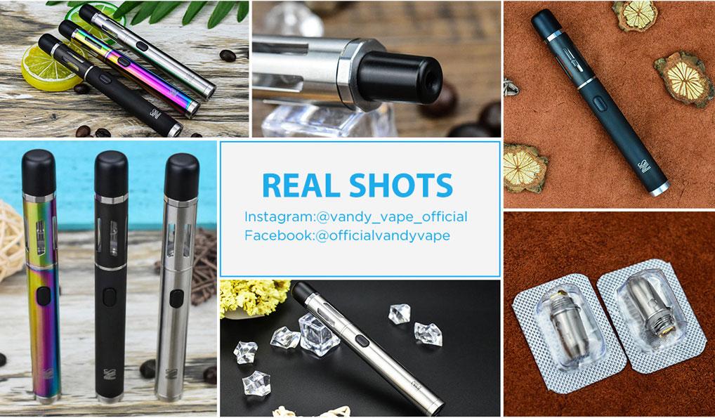 Vandy Vape NS Pen Kit - Real Shots