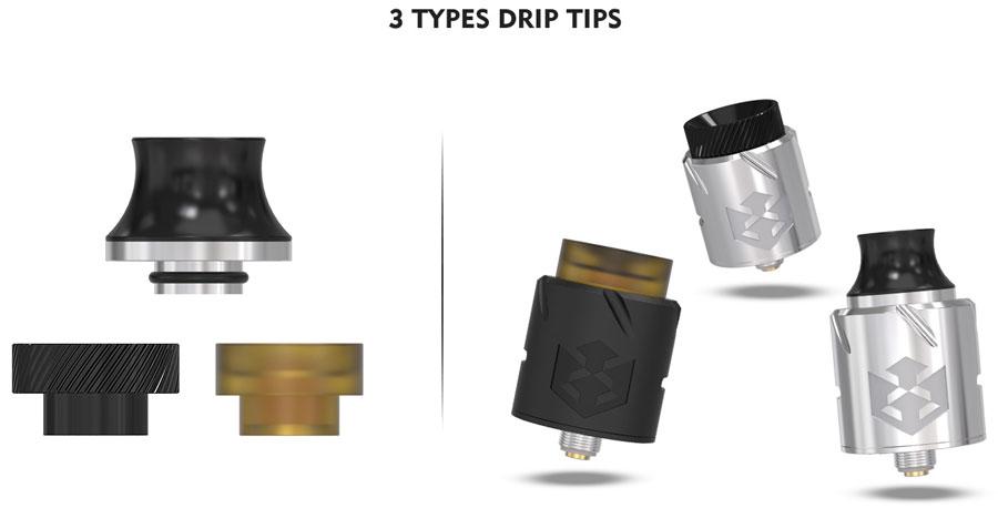 Paradox RDA Drip Tips