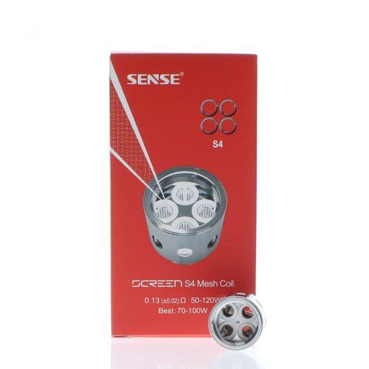 Sense Screen Quad Mesh S4 Coils