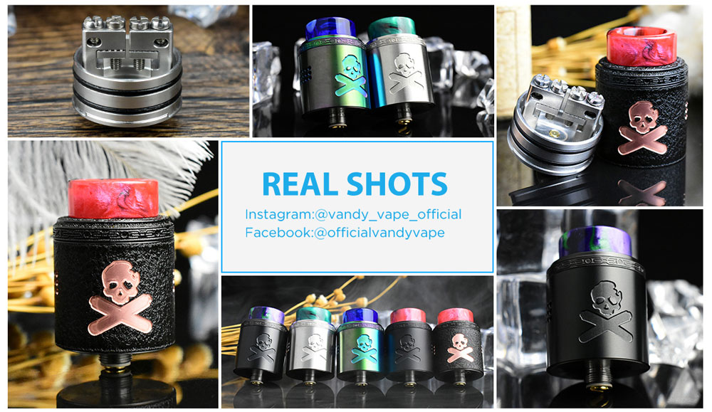 Bonza V1.5 RDA - Real Shots