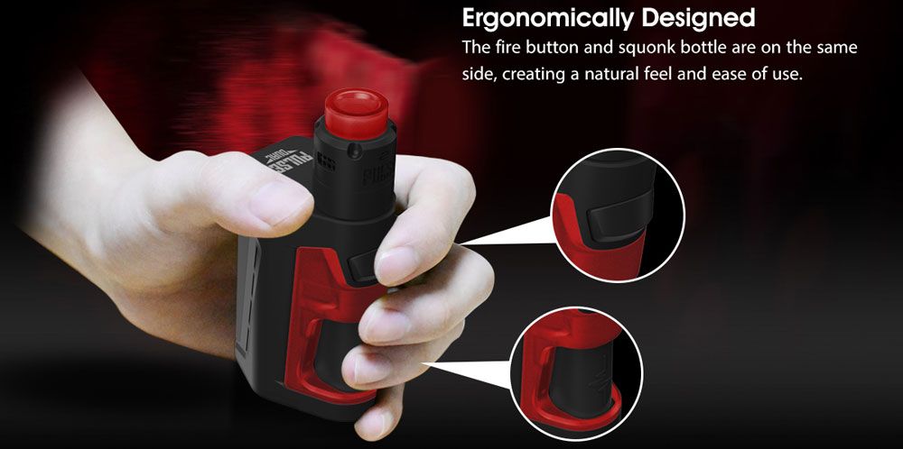 Vandy Vape Pulse Dual Kit - Ergonomic