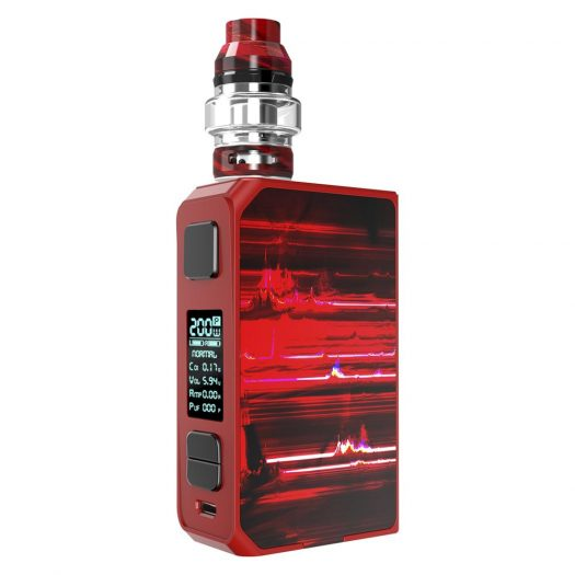 Red CoilART Lux 200 Kit