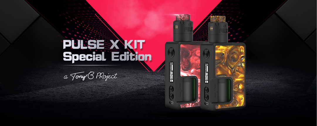 Vandy Vape Pulse X Kit SE - Banner