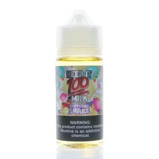 Birthday Shake eJuice - Bottle