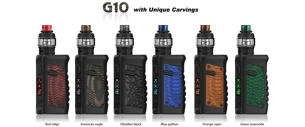 Jackaroo G10 Colors