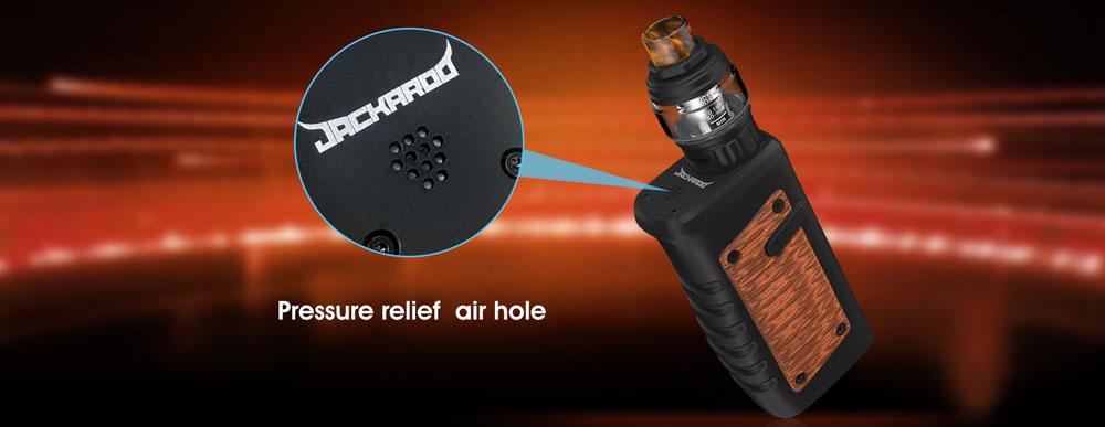 Jackaroo Pressure Relief Air Hole
