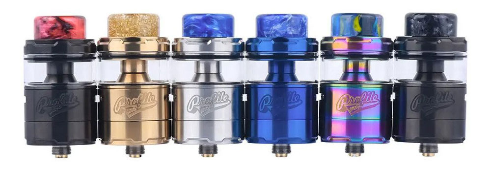 Profile Unity RTA - All Colors Banner