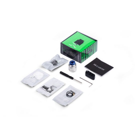 Wotofo Recurve Dual RDA - Product Contents
