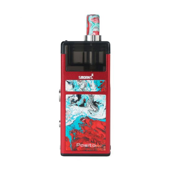 Classic Red Smoant Pasito Pod System