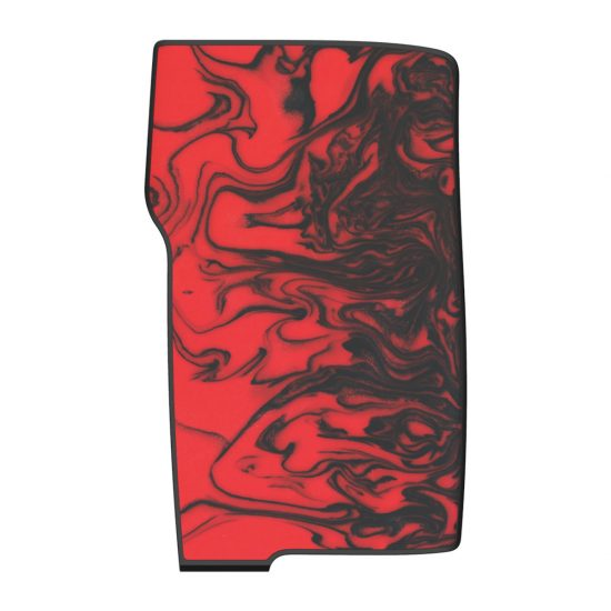 Flame Red Resin Swell Panels