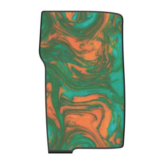 Swamp Green Resin Swell Panels