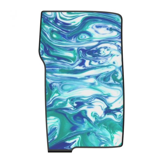 Wave Blue Resin Swell Panels