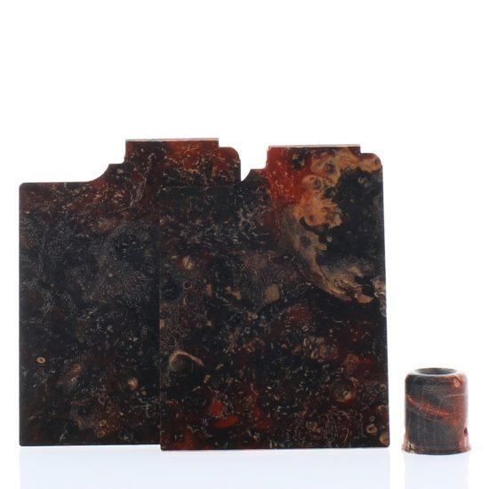 Purge Ally Panels Black Brown Orange Wood