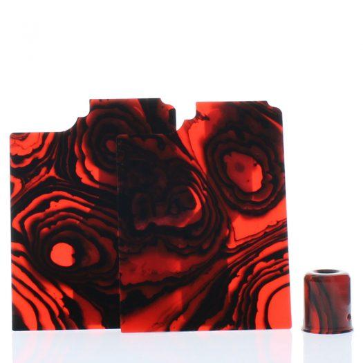 Purge Ally Panels Black Red Orange