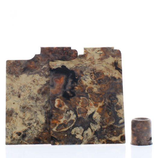 Purge Ally Panels Brown Black Wood