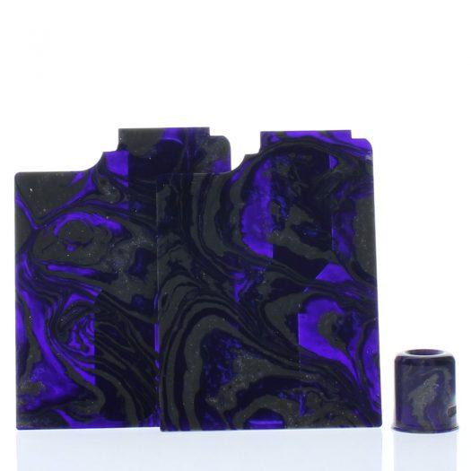 Purge Ally Panels Gray Silver Purple